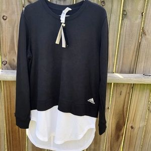 Adidas Layered Sweatshirt NWT